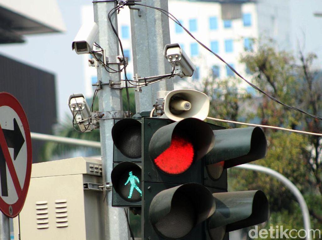 Polisi Sebut Kamera E-TLE Efektif Pelototi Pelanggar Ganjil Genap