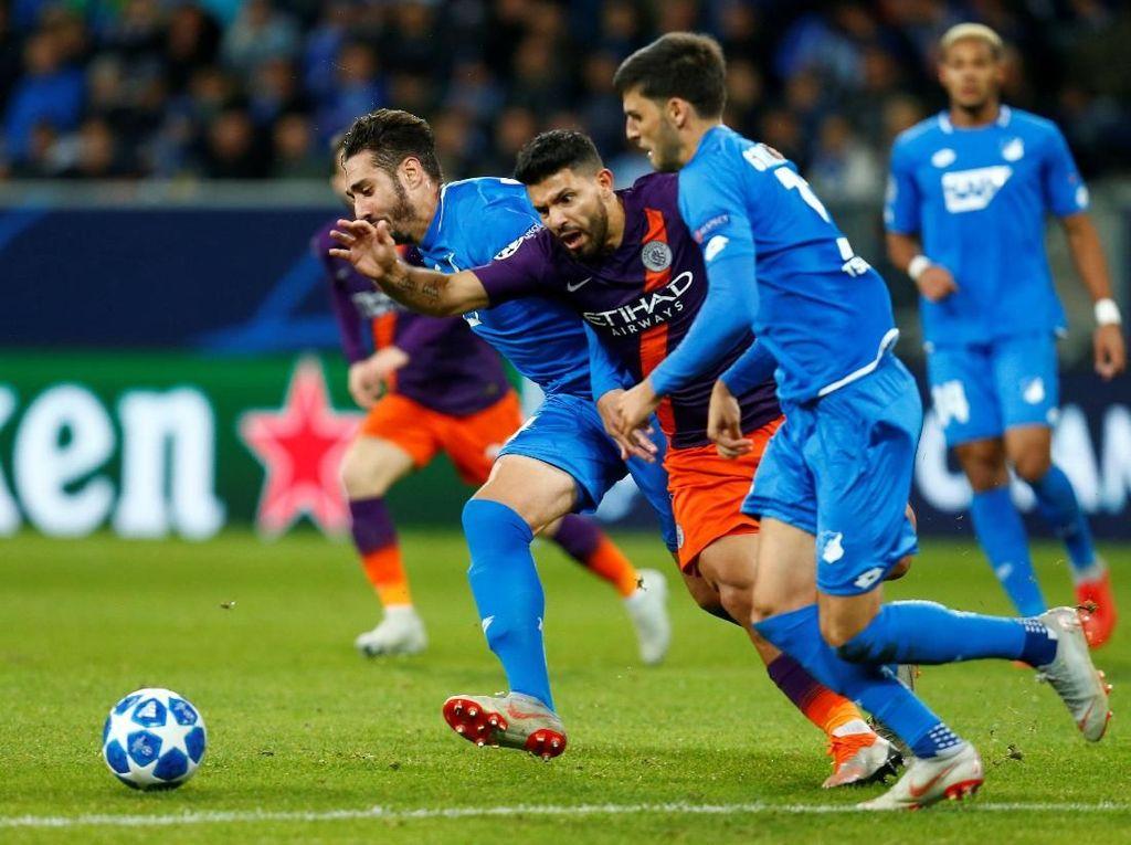 Hasil Liga Champions: Sempat Tertinggal, City Atasi Hoffenheim 2-1
