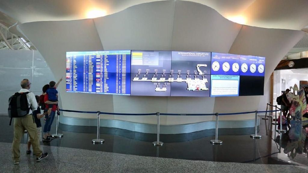 Jelang IMF-World Bank Meeting, Ini Wajah Bandara Ngurah Rai