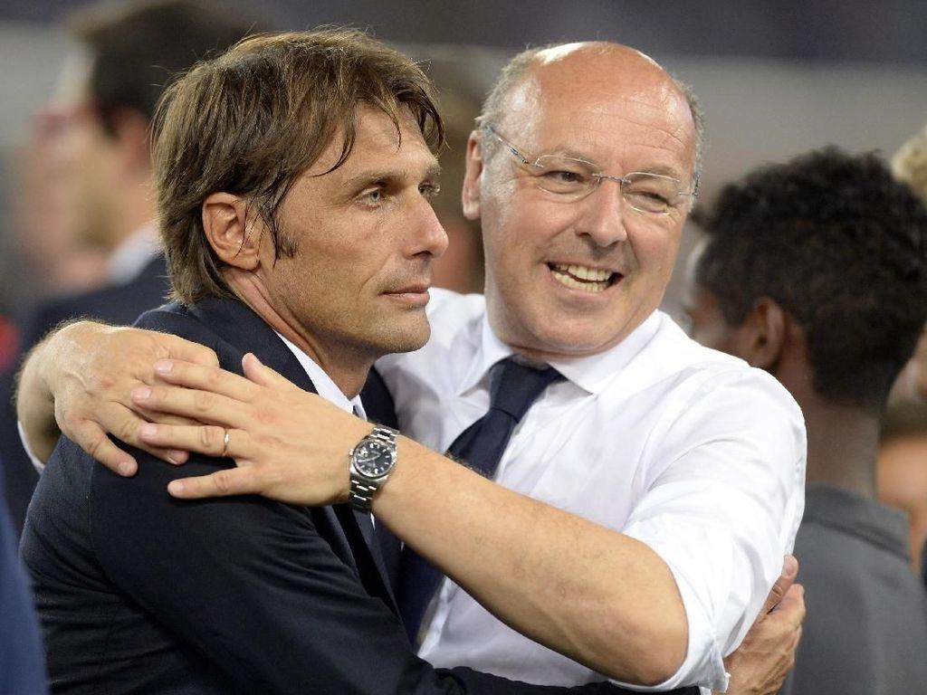Reuni Conte dan Beppe Marotta di MU?