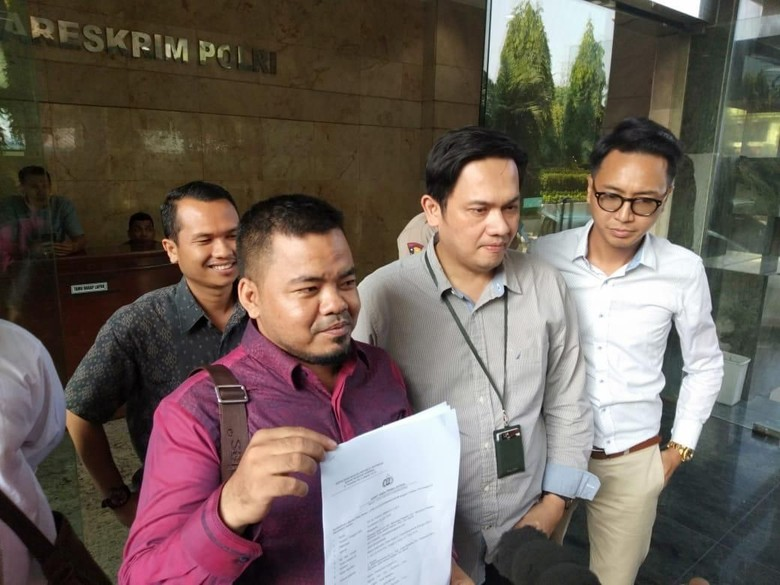 Prabowo-Sandiaga Dipolisikan soal Hoax Penganiayaan Ratna