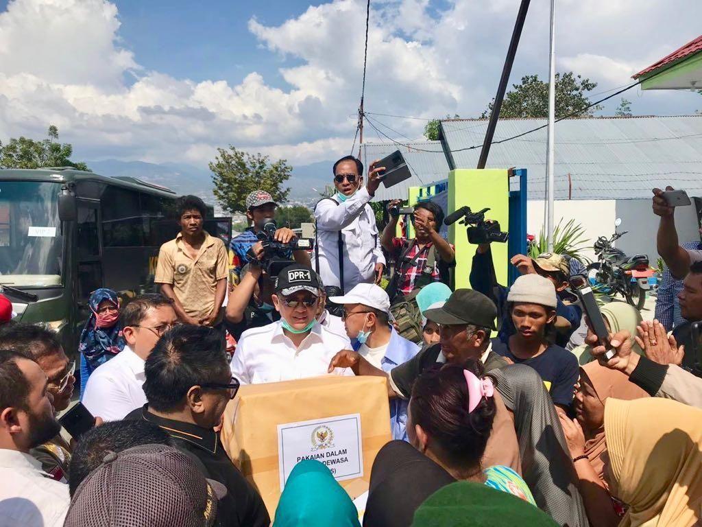 Ketua DPR Desak Kemensos Tepat Sasaran Salurkan Bantuan Gempa Sulteng