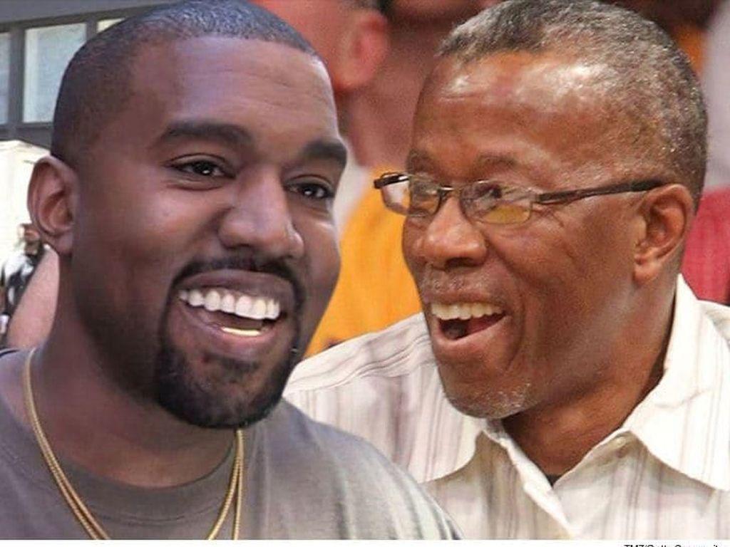 Sembuh dari Kanker Prostat, Ayah Kanye West Rayakan dengan Makan Serangga