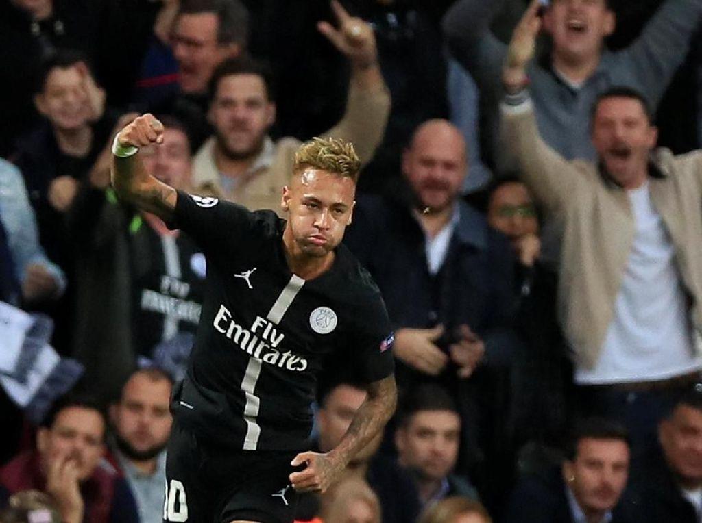Neymar Hat-trick, PSG Pesta Setengah Lusin Gol