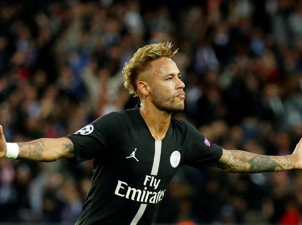 Samai Kaka, Neymar Pemain Brasil Tersubur di Liga Champions