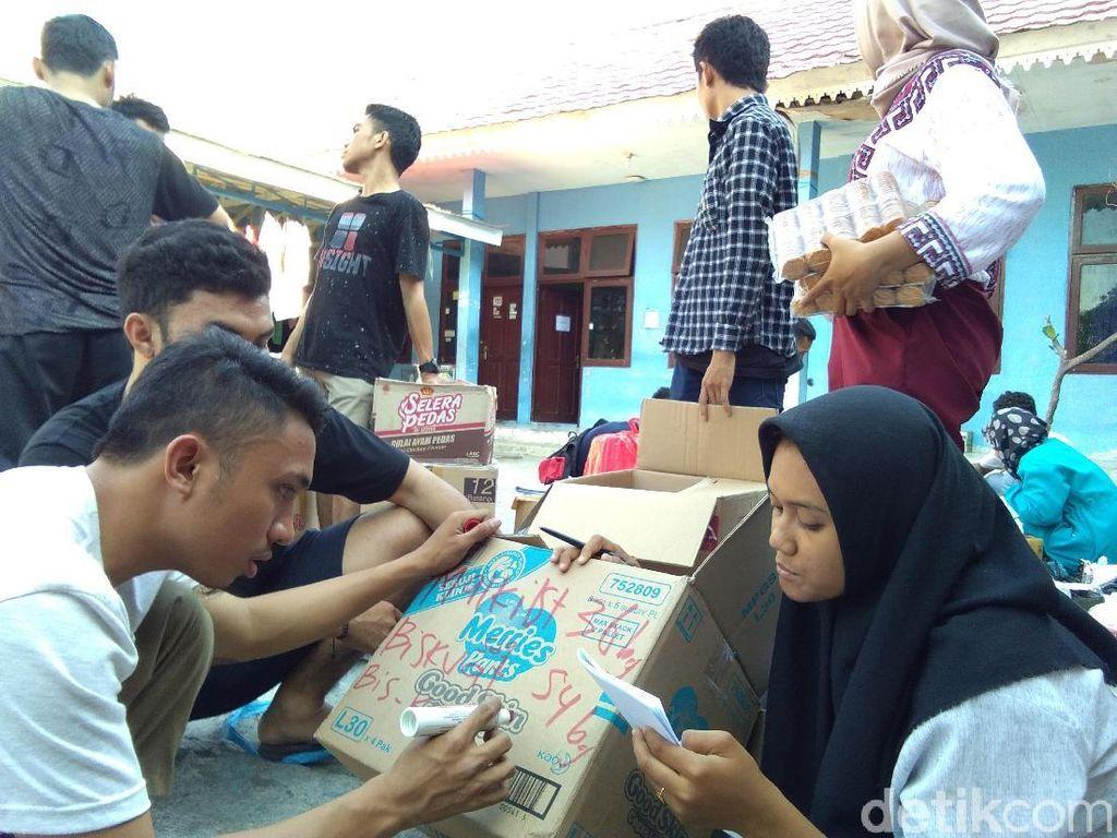 Galang Dana, Mahasiswa Sulteng Buka Posko Peduli di Yogya