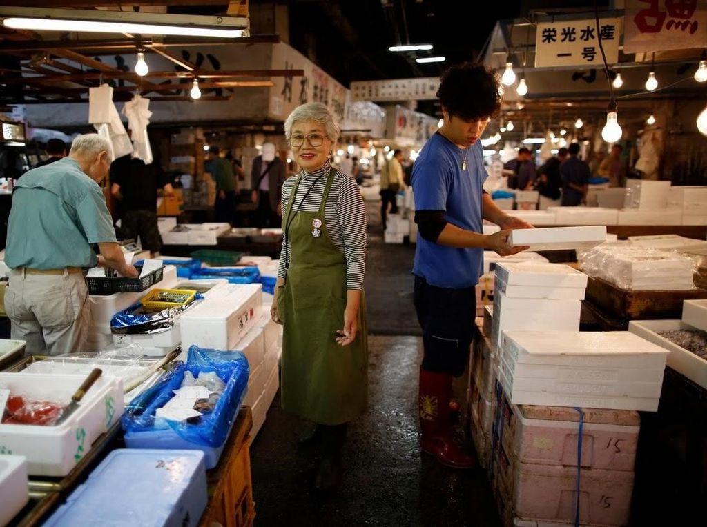 Foto: Sayonara Pasar Ikan Tsukiji