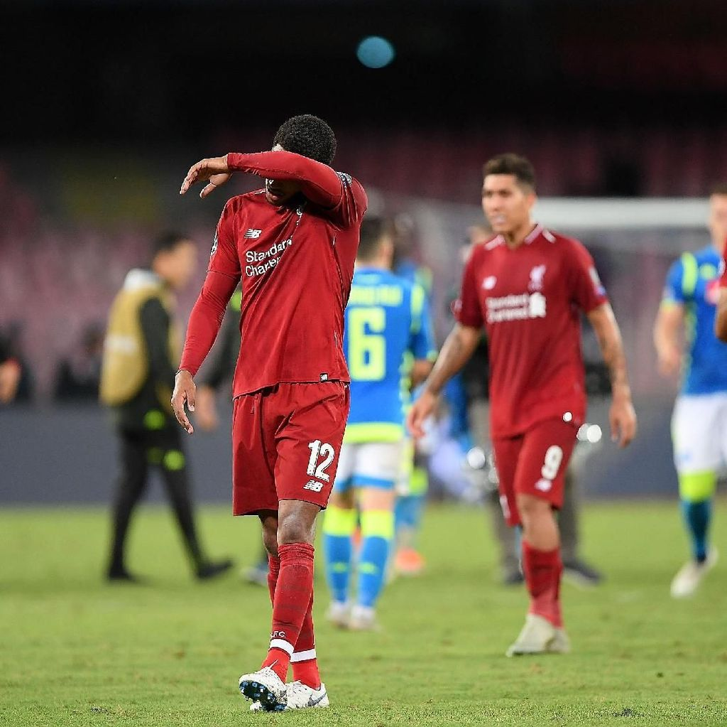 Liverpool Tak Berdaya di Hadapan Napoli