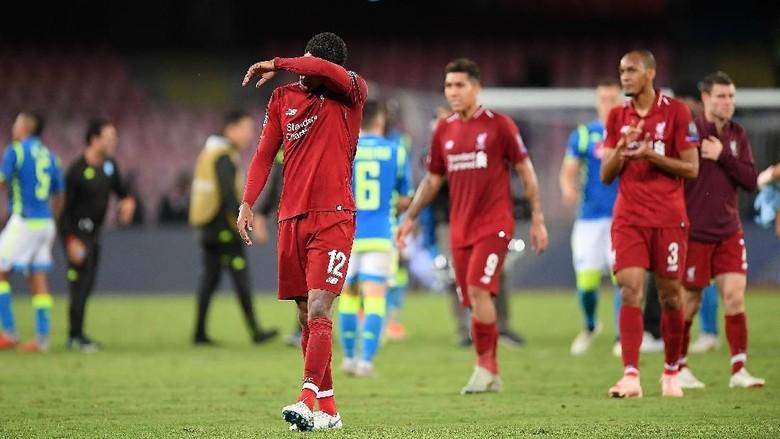 Liverpool Kalah 0-1 Dari Napoli Di Liga Champions