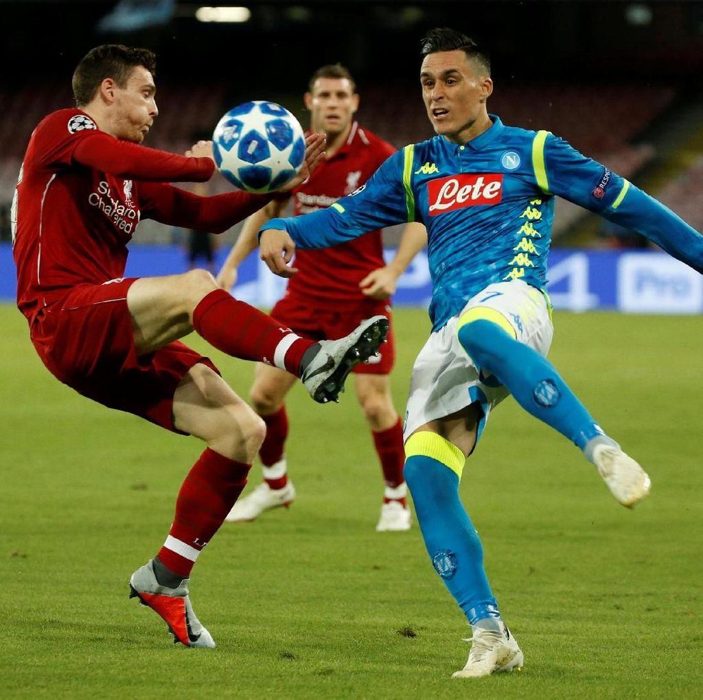 Apa pun Situasinya di Anfield, Napoli Dilarang Hilang Kendali