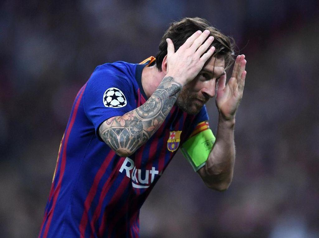 Selebrasi Messi: Cium Sepatu, Jemur Baju, dan Kiss Bye