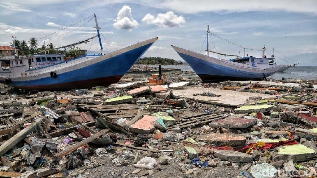 Begini Kondisi Pelabuhan Wani, Donggala Usai Tsunami