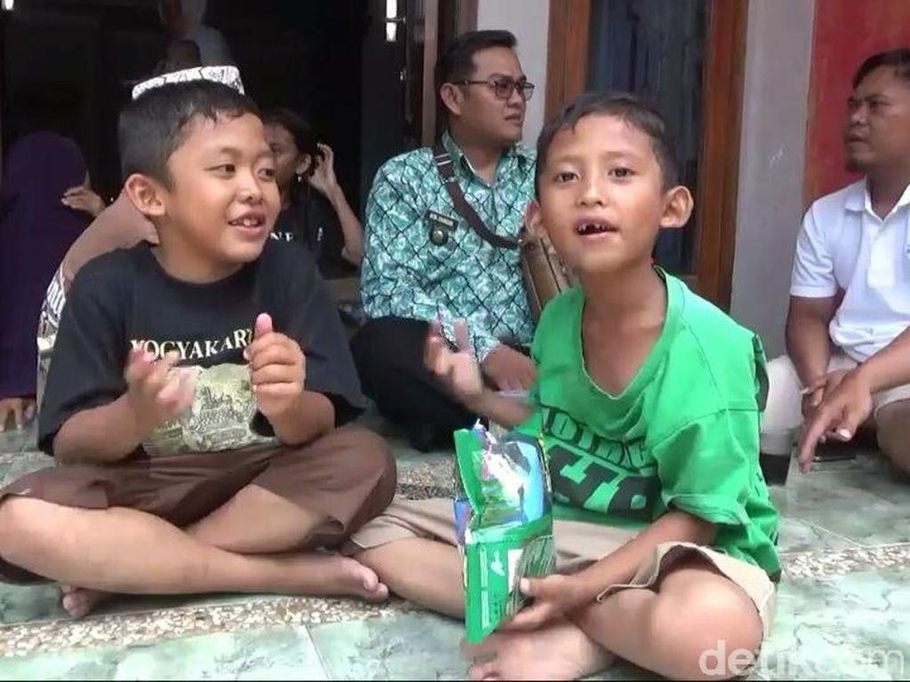 Korban Bencana Sulteng Diterima Sekolah Sementara di Tasikmalaya