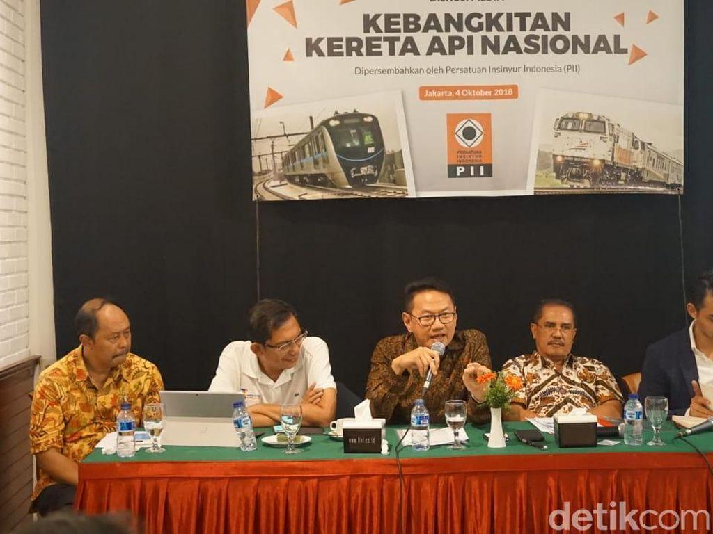 Insinyur dan Pakar Kereta Api Kumpul di Jakarta, Ini yang Dibahas