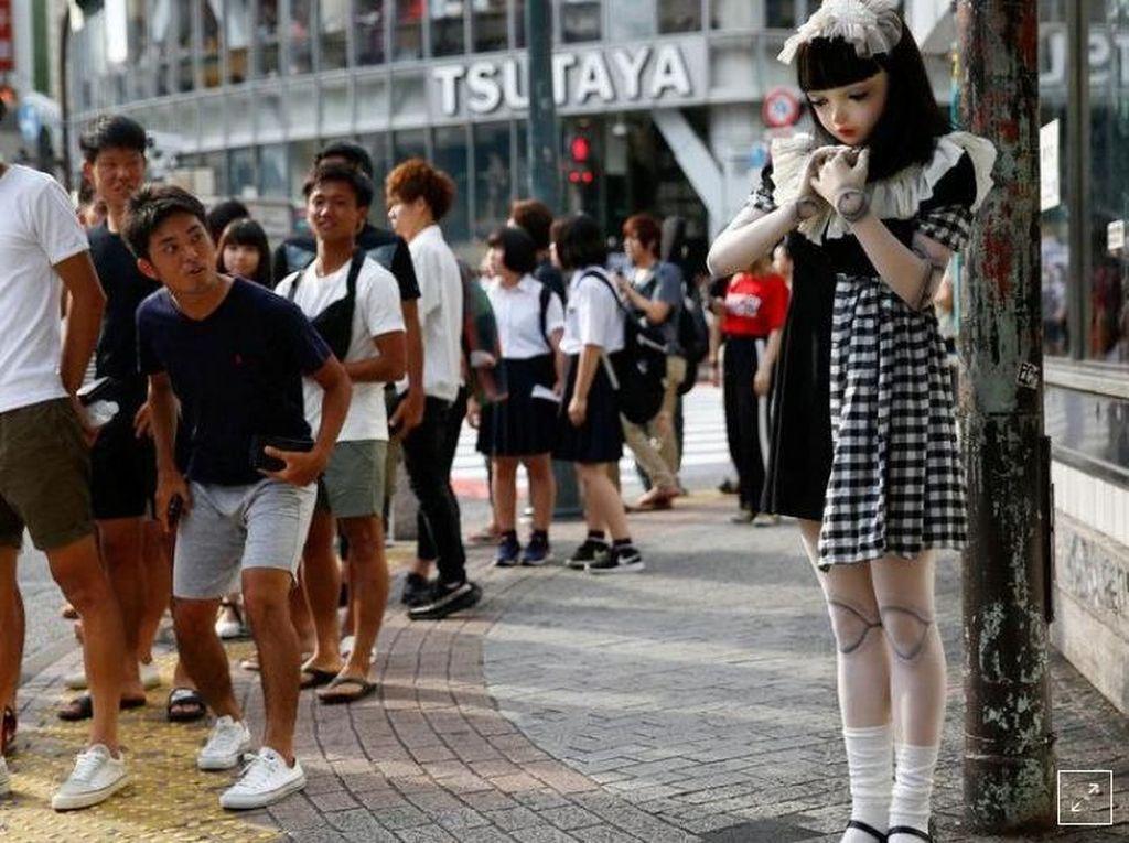 Ini Lulu, Boneka Hidup Super Cantik yang Pernah Bikin Heboh di Jepang