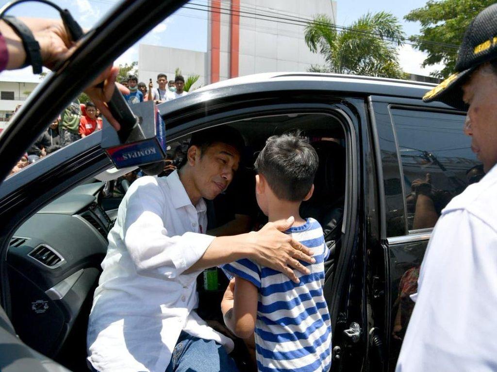 Bocah Izrael yang Ingin Ikut Jokowi: Mama di Surga, Saya Harus Berani