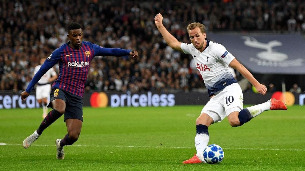 Pochettino Harap-Harap Cemas Kane Dibajak Barcelona