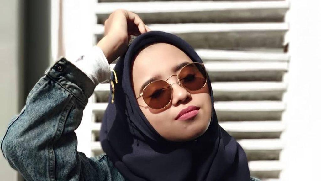 Gaya Hijab Caleg Cantik yang Viral Pasca Putus Cinta karena Beda Parpol