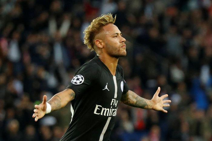 Setelah kalah 2-3 dari Liverpool pada laga pertama, PSG langsung mengamuk menghadapi Red Star. Pada matchday kedua Liga Champions di Parc de Princes, Rabu (3/10/2018) malam WIB, Les Parisiens sangat mendominasi sejak awal hingga akhir laga. REUTERS/Charles Platiau.