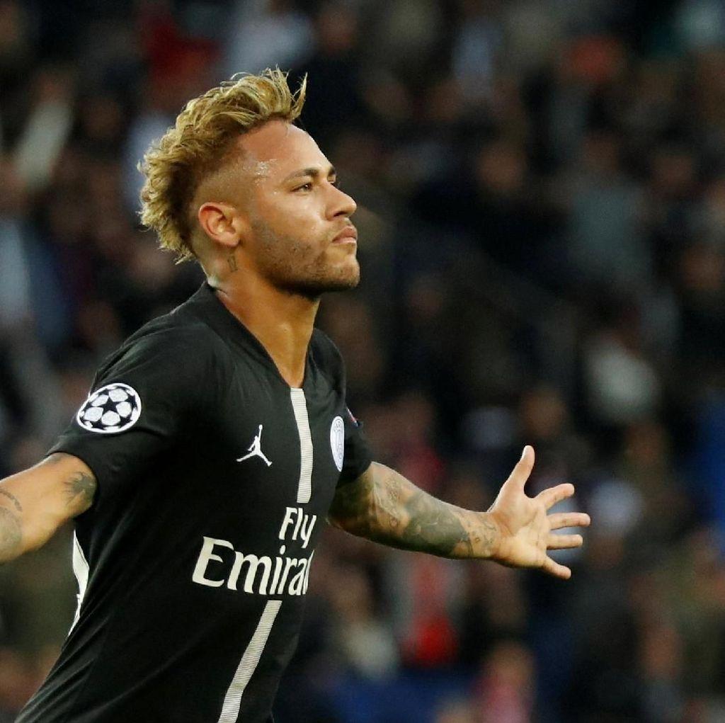 Ada Mbappe di PSG, Neymar Ingin Pulang ke Barca Lagi?