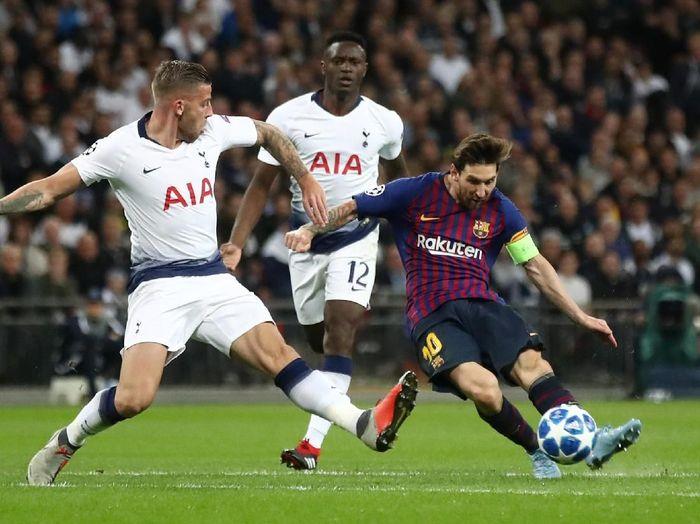 Untuk lolos ke fase knockout Liga Champions, Tottenham Hotspur butuh kemenangan di kandang Barcelona. (Foto: Julian Finney/Getty Images)