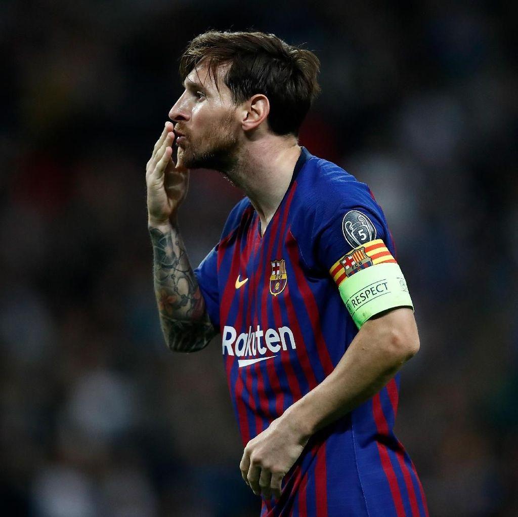 Dua Gol ke Gawang Spurs, Bukti Messi Bahagia di Barcelona