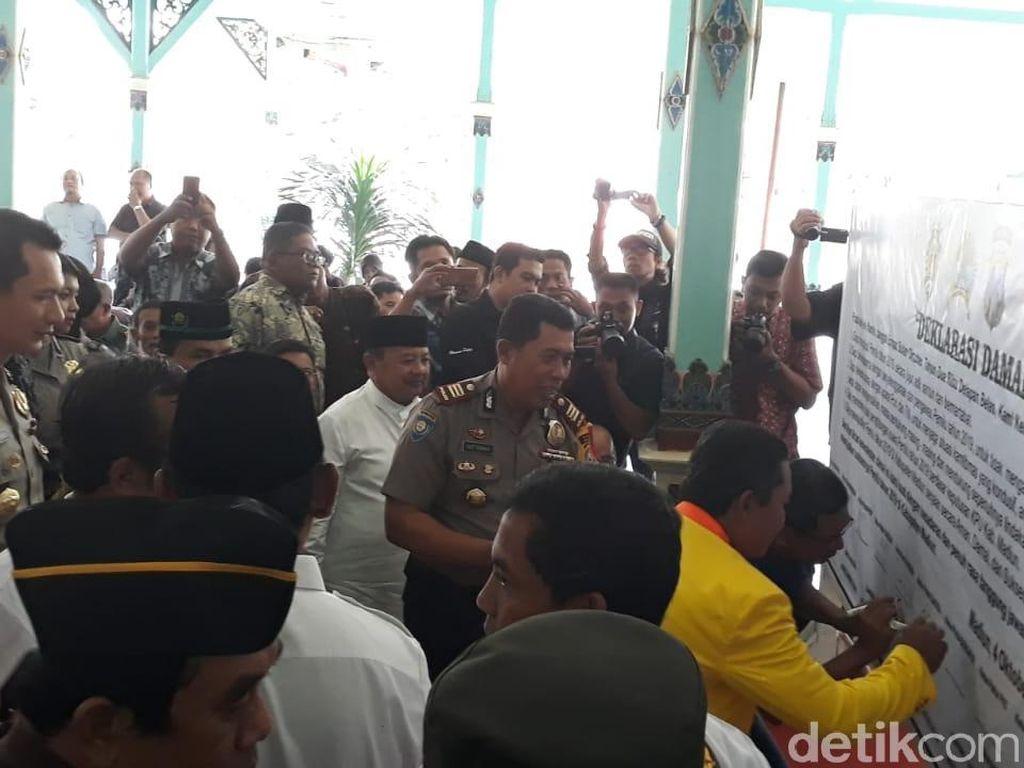 Polisi Libatkan Petani di Madiun Berantas Hoaks di Pemilu 2019