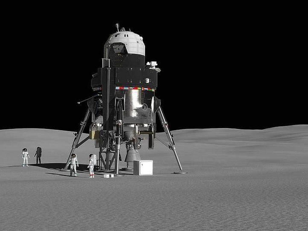 Pesawat Ini Bikin Astronot Bisa Tahan 2 Minggu di Bulan