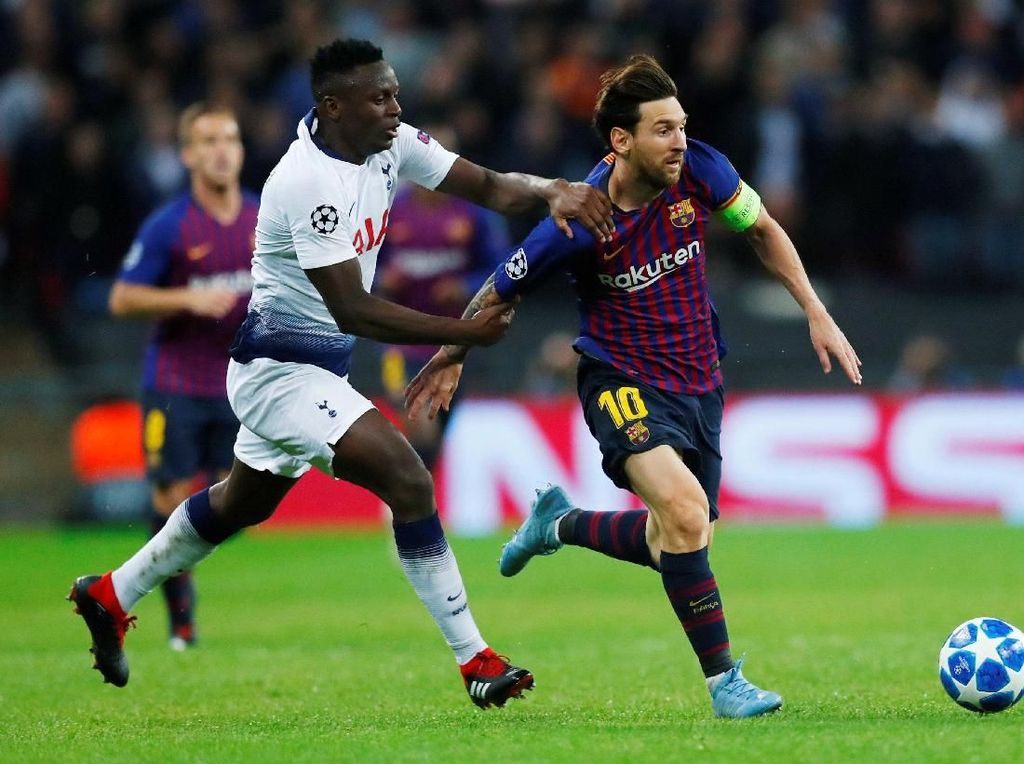 Barcelona Libas Tottenham di Wembley