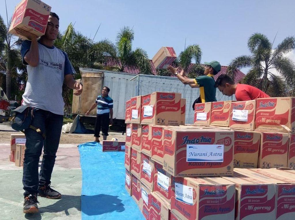 Bantuan untuk Korban Gempa Sulteng Terus Mengalir