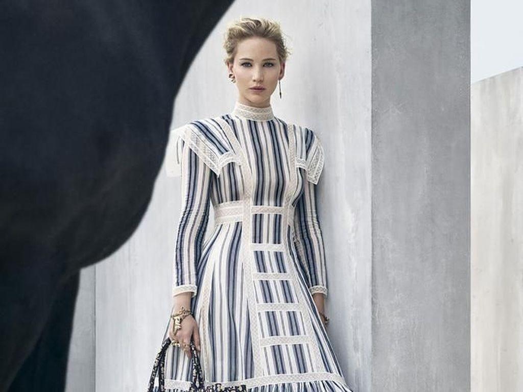 Foto: Cantiknya Jennifer Lawrence di Iklan Terbaru Dior
