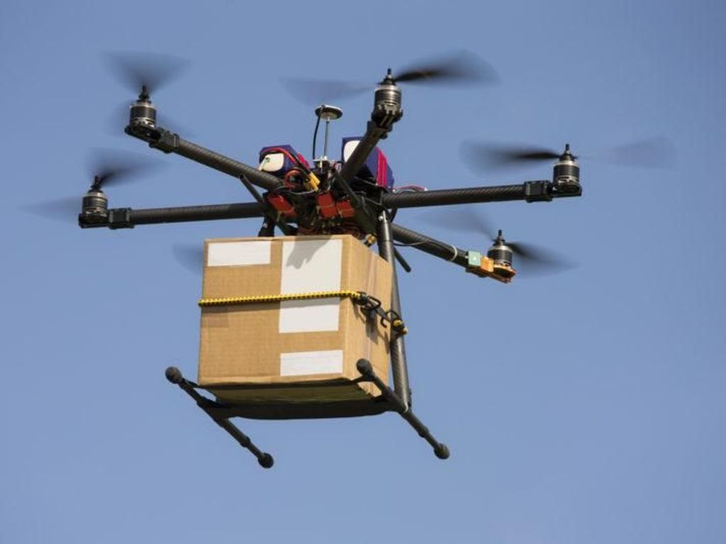Ngidam Makanan China, Napi Ini Selundupkan Makanan Lewat Drone