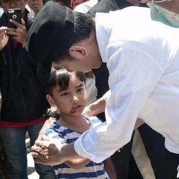Jokowi saat bertemu Izrael /