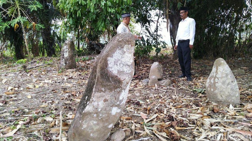 Foto: Batu Meriam di Ciamis Punya Mitos Pertanda Kejadian Besar