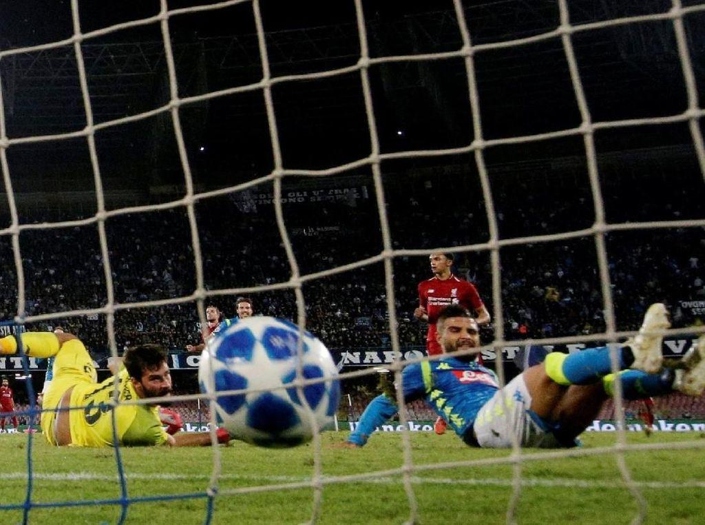 Ancelotti: Gol Insigne Datang di Waktu yang Pas