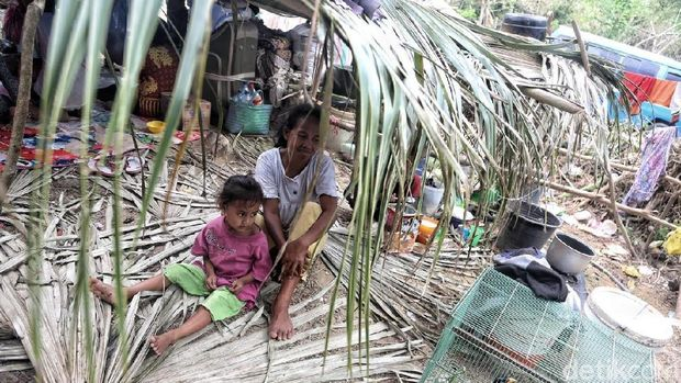 Ilustrasi atasi trauma anak korban bencana alam