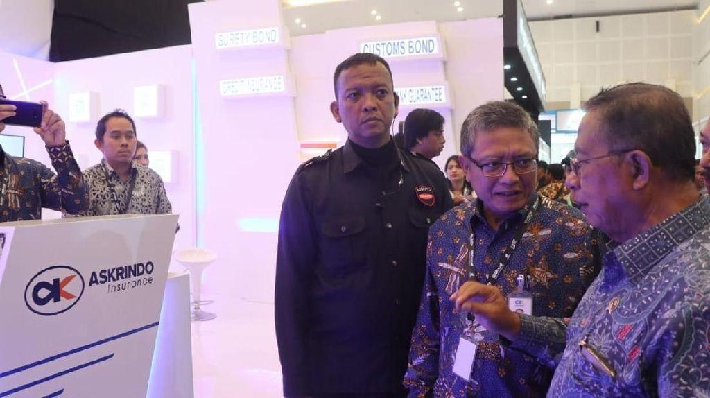 Darmin Nasution Hadiri IBD Expo 2018