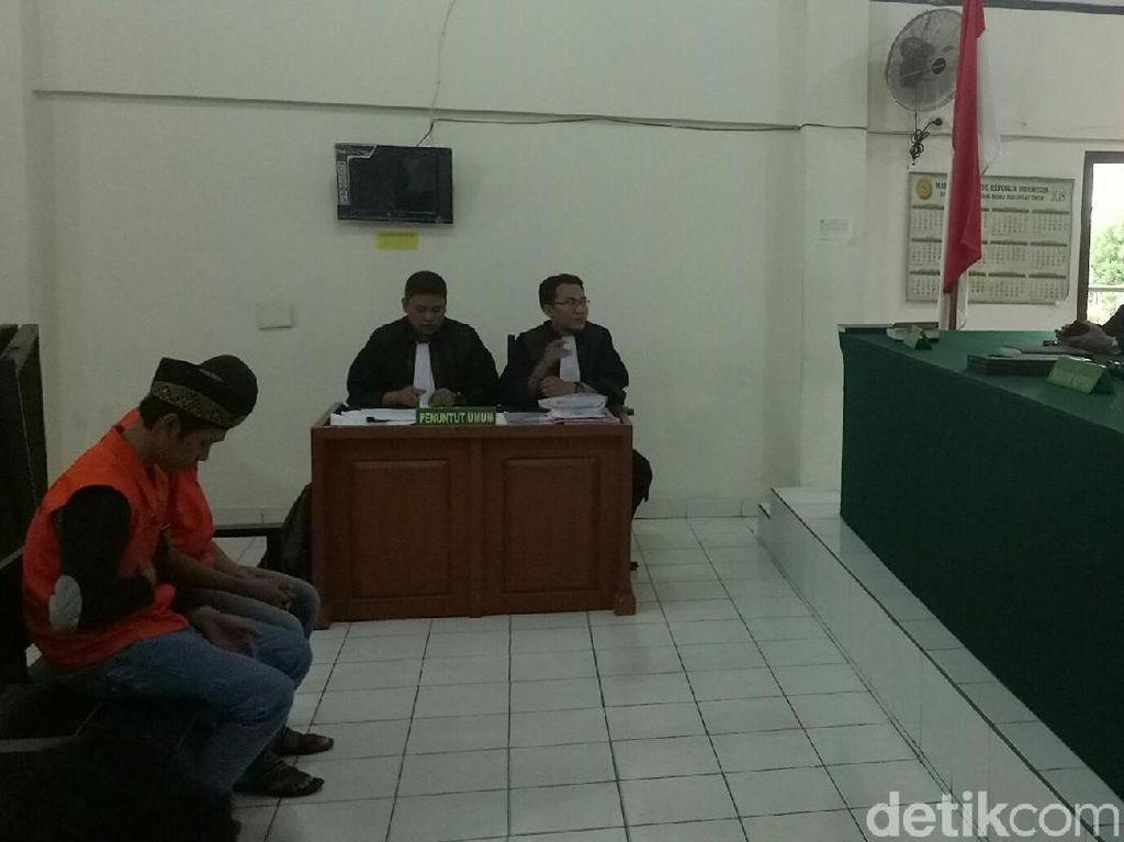 Pembunuh Sopir GoCar di Palembang Dituntut 18 dan 20 Tahun