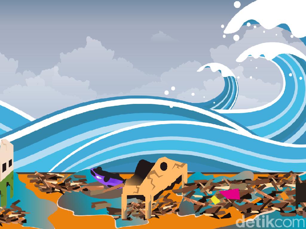 Tsunami Pantai Selatan Jawa Tak Bisa Diprediksi, Tapi Harus Diwaspadai