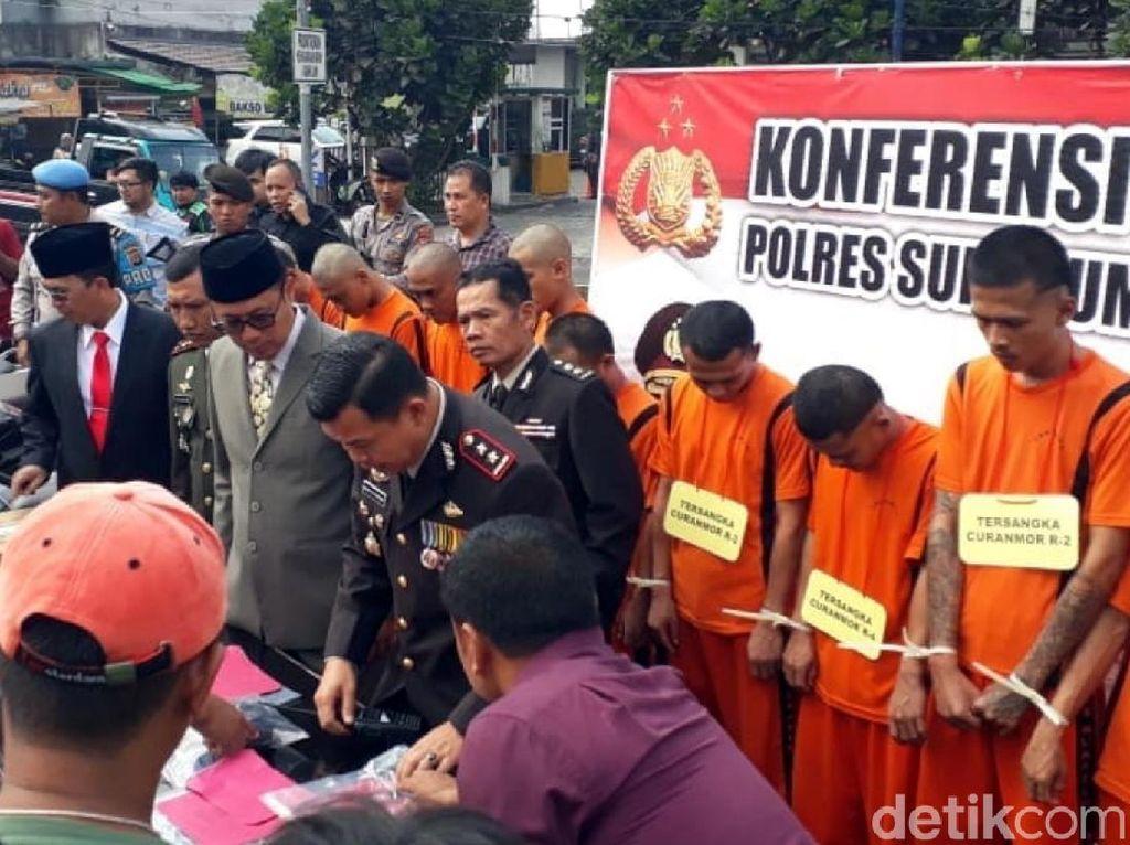 Teror Wanita, Komplotan Raja Tega Digulung Polisi Sukabumi