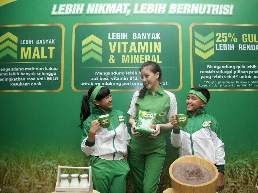 Nestle Produksi Susu dengan Kandungan Gula Rendah