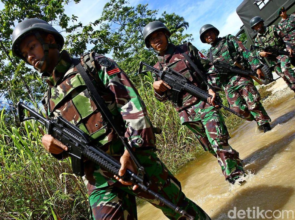 TNI Duduki Kampung Basis KKB di Papua untuk Putus Sumber Logistik