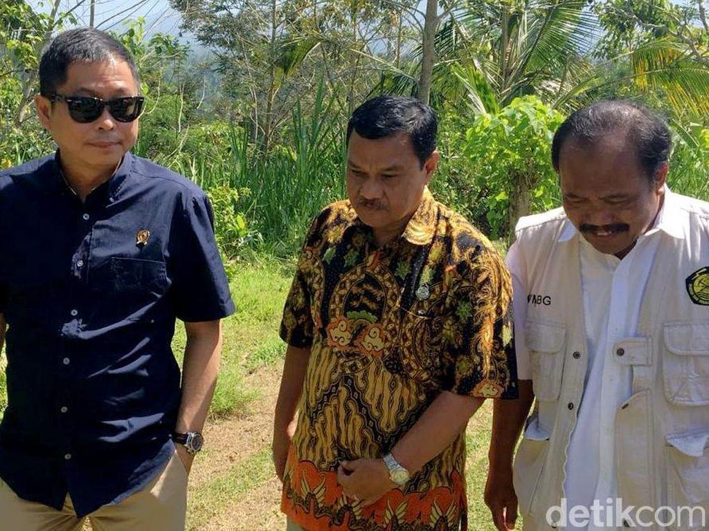 Jonan Terbang dari Palu ke Bali Cek Gunung Agung sampai BBM