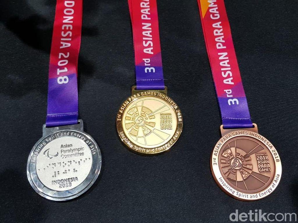 Uniknya Medali Asian Para Games