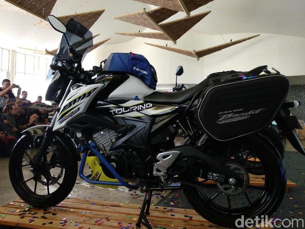 Suzuki GSX150 Bandit Dibikin Versi Touring, Ini Aksesorinya