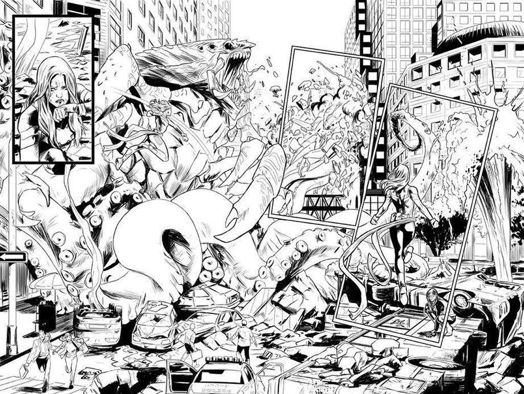 Captain Marvel Kembali ke Bumi di Seri Komik Terbaru