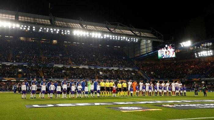 Chelsea menjamu Vidi di Stamford Bridge, Jumat (5/10/2018) di matchday 2 Liga Europa. Di pertandingan ini, The Blues tak menurunkan Eden Hazard dan NGolo Kante sebagai starter. (Foto: Andrew Boyers/Action Images via Reuters)