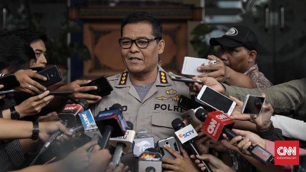 Kabid Humas Polda Metro Jaya Argo Yuwono.