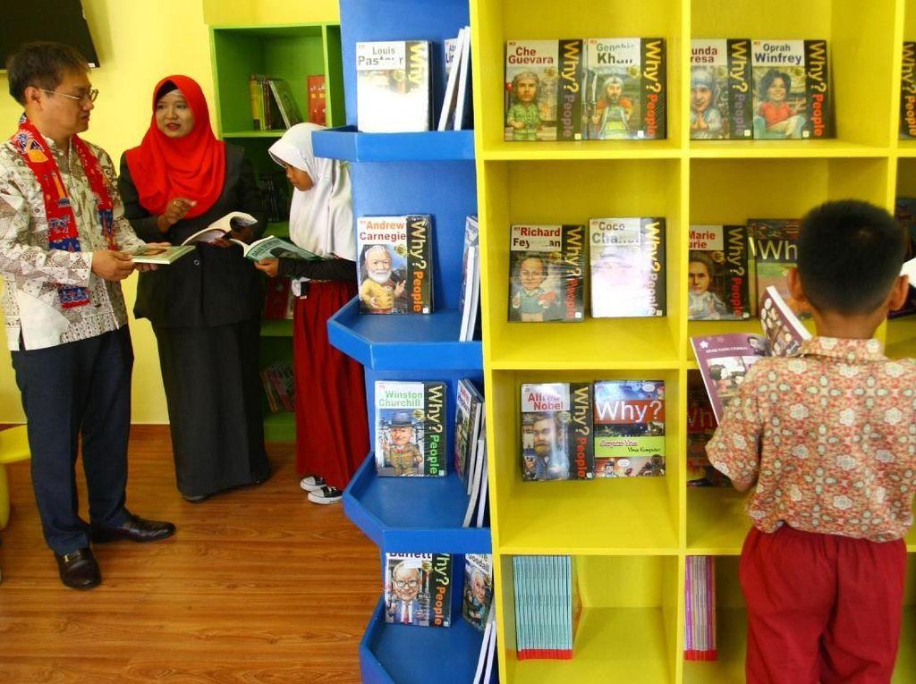 Bangun Perpustakaan Peduli Pendidikan