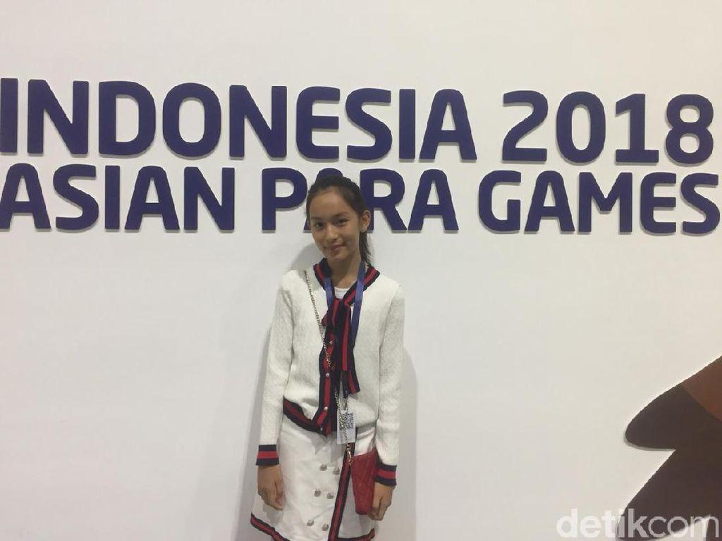 Kenalkan, Shanna Shannon Penyanyi Indonesia Raya di Asian Para Games